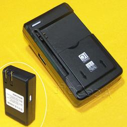 100% New External USB/AC Quick Battery Charger For Samsung G