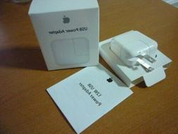 Genuine OEM Apple A1357 12W USB Wall Charger Power Adapter F