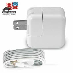 12W USB Power Adapter Wall Charger Cable for iPad 2 3 4 Air