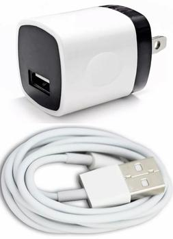 1x Wall Charger Adapter For iPhone 6s 7 8 Plus XS USB Data S