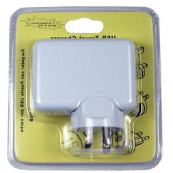 2.1A 4 Port USB Portable Home / Travel Wall Charger