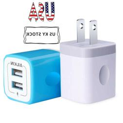 Ailkin 2 X Wall Charger Home-Use Wall Charger Adapter 2.1A P