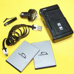 AceSoft 2010mA Battery Wall Charger Car Data Touch Pen f ZTE