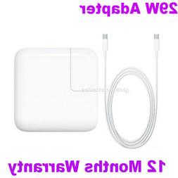 """29W Apple Macbook 12"""" 2015 A1540 AC Wall Power Adapter Charg"""
