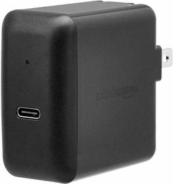 AmazonBasics 30W One-Port USB-C 3.0 Wall Charger for Laptops