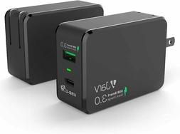 Jarv 33W Dual USB Type-C PD QC 3.0 Portable High Speed Trave