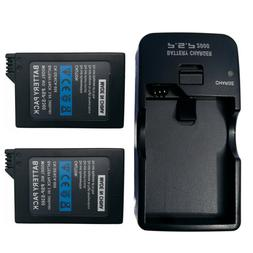 3600mAH BATTERY PACK FOR PSP 2000/2001/3000/3001/3003 & WALL