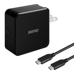 45W Wall Charger USB-C PD AC Adapter Laptop Charger for MacB