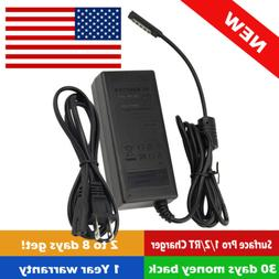 45W Wall Home Power Charger Adapter For Microsoft Surface 10