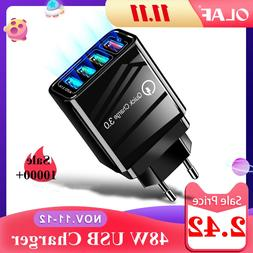 48W Quick <font><b>Charger</b></font> 3.0 <font><b>USB</b></