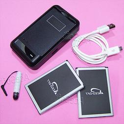 AceSoft 5020mAh Battery Wall Home Charger Cable Styli For AT