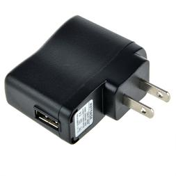5V 1A/1000mA USB-Port Home Wall Adapter Charger for MP3 MP4