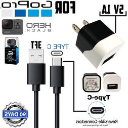5V 1A Wall Charger - For GOPRO Hero Black 5 / 6 Session 5 /