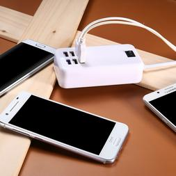 6-Port USB Outlet Wall Charger Multi Port AC Power Supply Ad