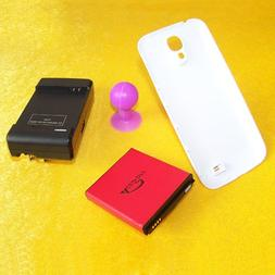 6380mAh Extended Life Battery w Back Hard Cover Door Travel