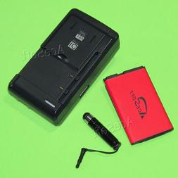 AceSoft 1000mAh Battery Wall Quick Charger Stylus For AT&T L
