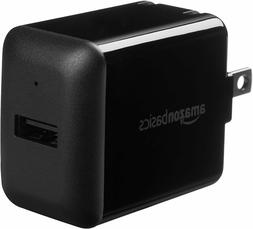 AmazonBasics One-Port USB Wall Charger  - Black