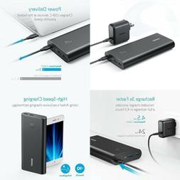 Anker PowerCore+ 26800 PD with 30W Power Delivery Charger, P