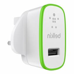 Belkin 2.1 Amp USB AC Wall Charger Universal for iPhone 7 6s