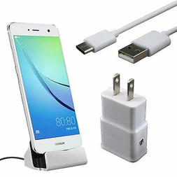 Dock Adapter+Wall Charger +Cable For LG G6 G5 V20 V30 Pixel