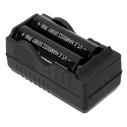 Dual Slots 18650 Battery Charger 4.2V Li-ion Rechargeable Ba