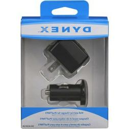 Dynex - Compact Wall & Car Charger Bundle for Apple® iPod®