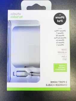 For Apple iPhone / iPad-Belkin Fast Home Charger 4.8 AMP 2 P