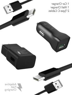 Galaxy S8 Plus Adaptive Fast Charger Type-C 2.0 Cable Kit by