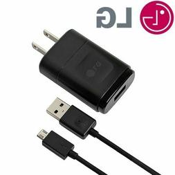 Genuine OEM LG WALL HOME CHARGER + MICRO USB CABLE FOR LG G2