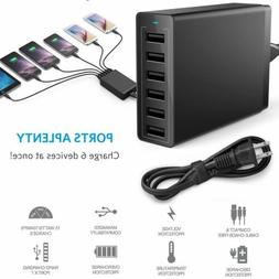 Home Wall Travel USB Charger Rapid Fast Charging Hub Power S