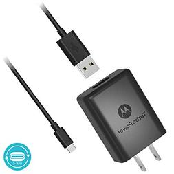 Motorola SPN5970A TurboPower 15+ QC3.0 Wall Charger with 3.3