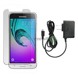 NEW HOT! Wall Charger+LCD Screen Protector for Android Phone