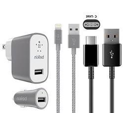 Official - Belkin Fast Universal USB- C & Lighting 8pin USB