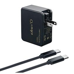 Oranka 45W Type-C AC Charger Power Supply Adapter Cord for M