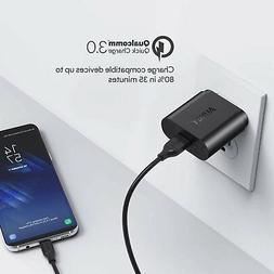 Quick Charge 3.0 AUKEY 18W USB Wall Charger for Samsung Gala
