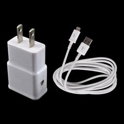 US Wall Charger Adapter+USB Charging Cable for LG G Pad X F