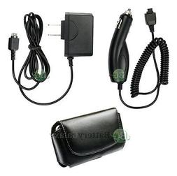 Wall+Car Charger+Case for LG AX260 UX260 Scoop AX260 LX260 R