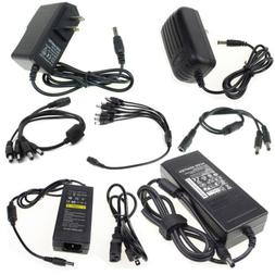 AC 100-240V DC 12V 1/2/3/5A Wall Charger Power Supply Splitt