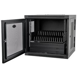 Tripp Lite 16-Port AC Charging Storage Station Cabinet for i