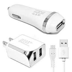 Accessory Kit 3 in 1 Charger Set for Samsung Galaxy J3 Star/