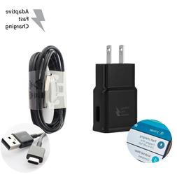 Adaptive Fast Rapid Wall Charger Type C Cable for Samsung Ga