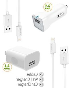 Boxgear Apple Charger for iPhone X, 8, 8 Plus, 7, 7 Plus, 6s