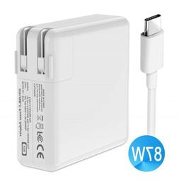 APPLE MacBook 87W USB-C Power Adapter MJ262LL/A Wall Charger