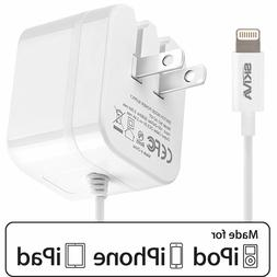 Apple MFi Certified iPhone Wall Charger, Skiva 10W 2.1Amp Fo
