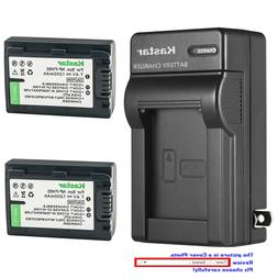 Kastar Battery Wall Charger for Sony NP-FH50 & DCR-DVD504 DC