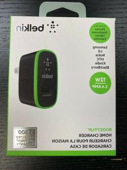 Belkin Boost UP 12W / 2.4 AMP USB Universal Home Charger for