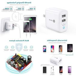 Iclever Boostcube Ii Usb Charger 24W Dual Wall Charger With