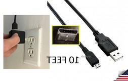 chaRger Cable Cord+Wall Plug to LG G PAD 8.3 VK810,8.0 V520,
