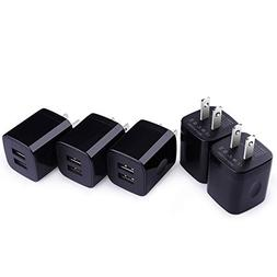 Dual Port 2.1A USB Travel Wall Charger Power Adapter Univers