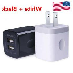Ailkin Dual USB Port Wall Home Travel  Adapter Fast Power Ch